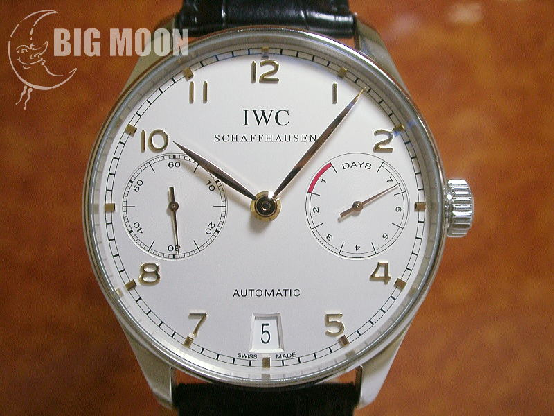 cheap for discount a86cb cacdc IWC ポルトギーゼ・オートマチック 7DAYS 型式:IW500114 商品 ...