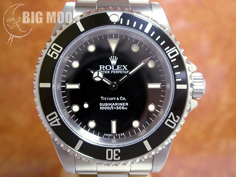big sale b48fc cddc4 ロレックス サブマリーナー TIFFANYダブルネーム 型式:14060 E ...