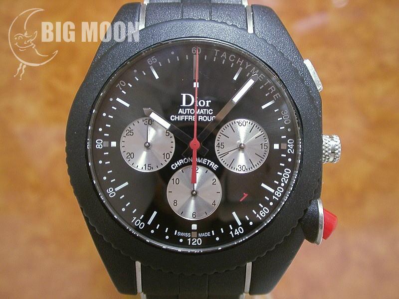 lowest price cfdb0 66d86 Dior ディオール シフルルージュ・クロノグラフ・ブラックタイム ...