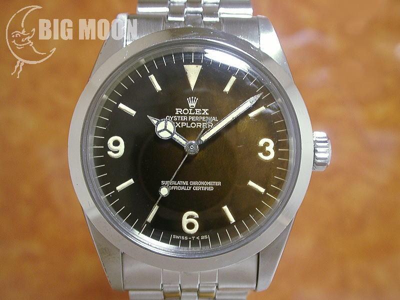detailed look 0128a 8720e ロレックス ヴィンテージ エクスプローラーⅠ ミラーダイアル ...