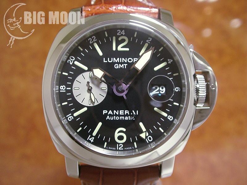 huge selection of abe61 c1920 パネライ ルミノール・GMT 44mm 型式:PAM00088 I番 商品番号 ...