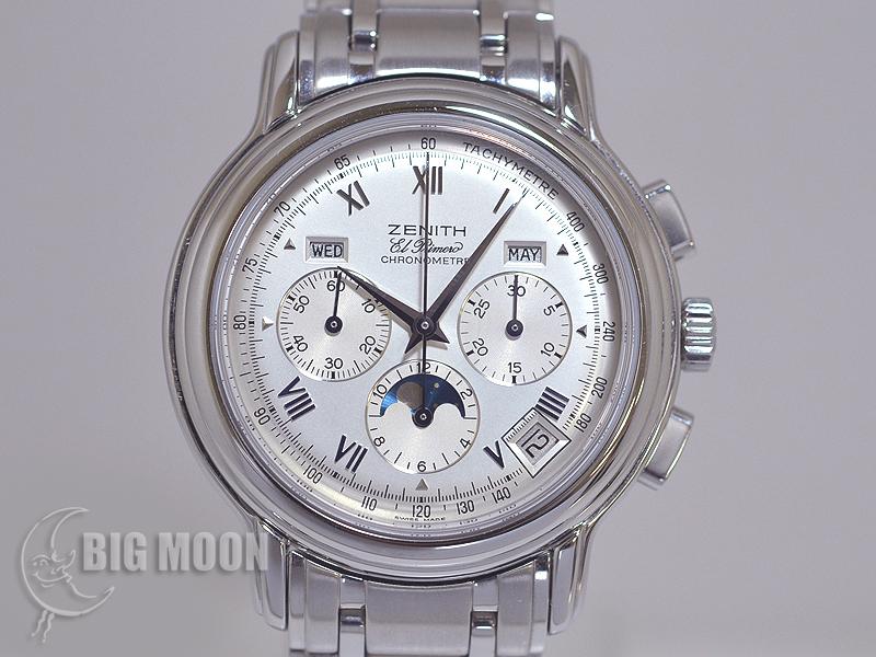 buy online 93d36 744fb ゼニス エルプリメロ・クロノマスター 型式:02.0240.410/01 ...