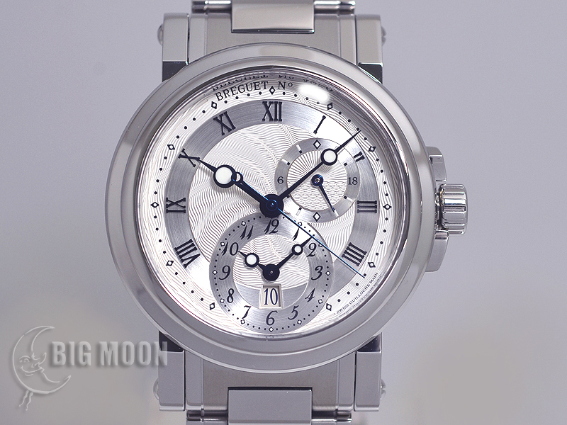 new product 18102 b61df ブレゲ マリーン・GMT 型式:5857ST/12/SZ0 商品番号:t7403 ...
