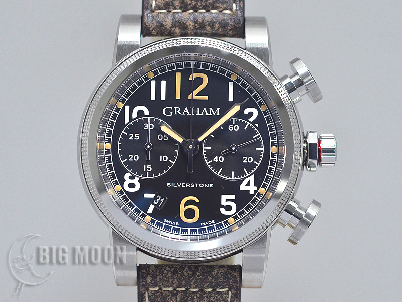 on sale d5a77 a21a2 GRAHAM グラハム シルバーストーン・ヴィンテージ44・クロノ ...