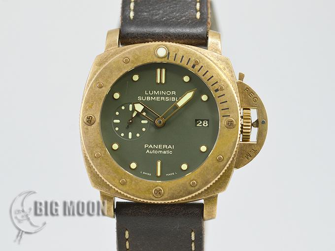new style 834bb f89e5 パネライ ルミノール サブマーシブル1950 3デイズ ブロンゾ 世界 ...