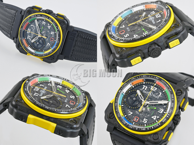 Bell&Ross ベル&ロス BR-X1 クロノグラフ ルノー RS17 BRX1-RS17 限定250本