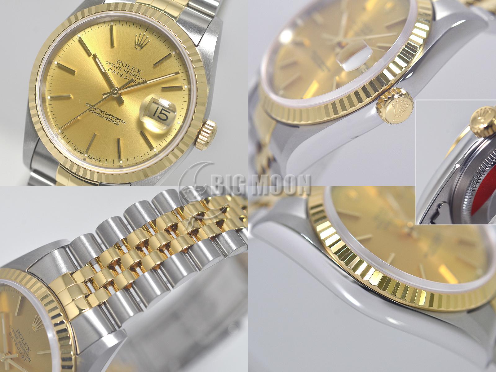 finest selection b77a3 b8d39 ロレックス オイスターパーペチュアル・デイトジャスト 型式 ...