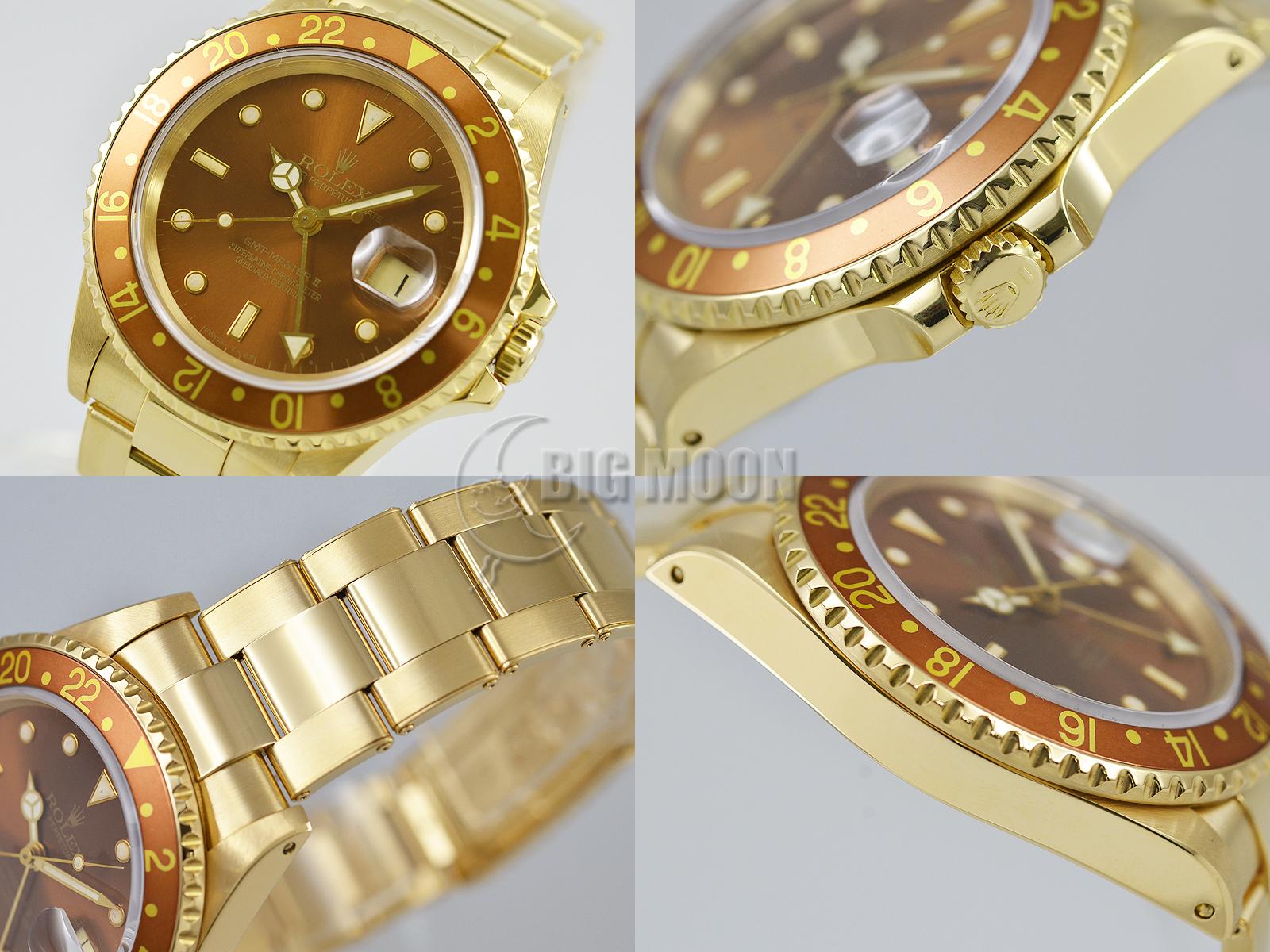 hot sale online 5a49f 0c288 ロレックス GMTマスターII 型式:16718 L番 商品番号:u453 ...