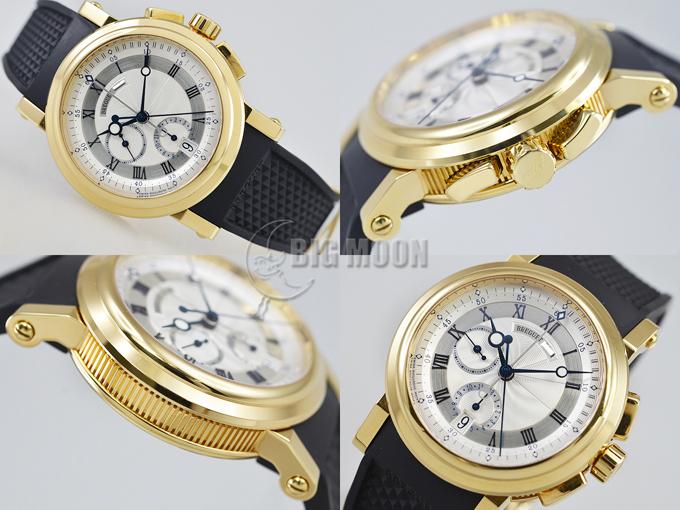 big sale 085a7 372c1 ブレゲ マリーン クロノグラフ 5827 型式:5827BA/12/5ZU 商品 ...