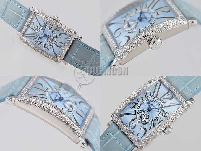 finest selection 578b8 fee81 フランクミュラー ロングアイランド レディース ダイヤモンド ...